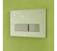 Смывная клавиша Geberit Sigma 50 матовое стекло с орнаментом (115.788.SC.1)