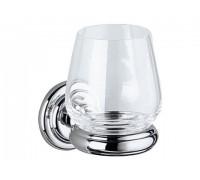 Держатель стакана Keuco Astor в комплекте с хрустальным стаканом (02150019000)