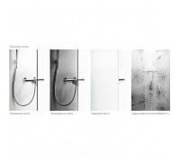 Задние стенки IDO Showerama 8-5 100x100 см, профиль серебристый, прозрачное (4985112011)