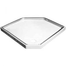 Душевой поддон IDO Showerama 8-5, белый 100x100 см (4988101010)