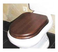 GSI Old antea сиденье для унитаза softclose орех/зол (MS56NOC)