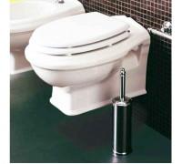 Simas Arcade сиденье для унитаза с мех плав закр бел/хром (AR006)