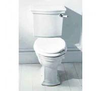 Devon Devon Westminster сиденье для унитаза с мех плав закр бел/латунь (2IBSEBIAW)