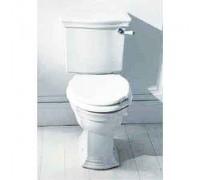 Devon Devon Westminster сиденье для унитаза с мех плав закр бел/хром (2IBSEBIAWCR)