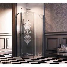 Душевая дверь Huppe Design victorian 88. 5-91. 5х196 см frozengrace (DV0402.092.344)