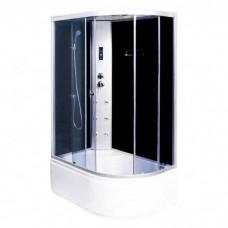 Душевая кабина Aqualux AQ-4072GFL MODO-120 мат.стекло/зад.стенка тёмная