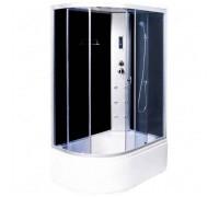 Душевая кабина Aqualux AQ-4073GFL 130х85х215 MODO-130 левая мат.стёкла/зад.стенка белая