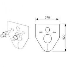 Прокладка звукоизоляционная TECE TECEprofil (9200010) для подвесного унитаза и биде
