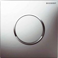 Ручной пневмопривод смыва Geberit Sigma 10 Hytouch для писсуара хром (116.015.KN.1)