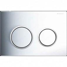 Кнопка смыва Geberit Omega 20 (115.085.KH.1) хром/матовый хром