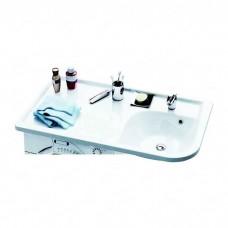 Раковина мебельная Ravak praktik w l белая с отверстиями (XJ7L1100000)