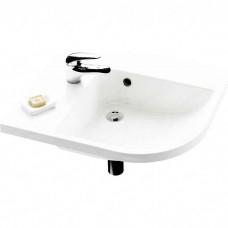 Раковина мебельная Ravak be happy p белая с отверстиями (XJAP1100000)