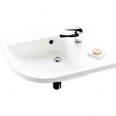 Раковина мебельная Ravak be happy l белая с отверстиями (XJAL1100000)