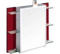 Зеркальный шкаф Villeroy Boch Sentique с 1дв/6полк с подс 80x13 5x75h sx pearlwood с кр (A300 80DN)