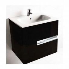 Тумба Roca Victoria nord black edition подвесная для раковины 60 см (ZRU9000096)